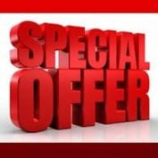 Special Offers: Limited Time Only!
